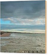 The North Bay Bridlington From The North Pier Wood Print