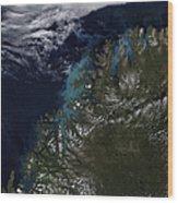 The Norwegian Sea Wood Print by Stocktrek Images