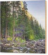 The Now Creek Wood Print