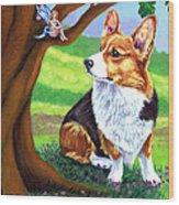 The Oak Tree Fae Wood Print
