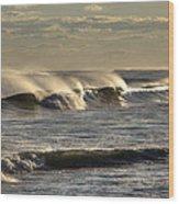 The Ocean Winds Wood Print