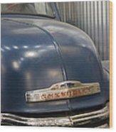 The Ol' Chevy Wood Print