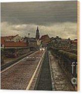 The Old Bridge At Berwick Wood Print