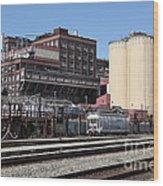 The Old California And Hawaii Sugar Company In Crockett California . C And H . 5d16770 Wood Print