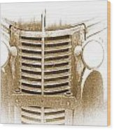 The Old Chevrolet Wood Print