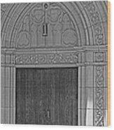 The Old Church Doors Wood Print