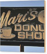 The Old Donut Shop Wood Print