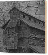 The Old Douglassville Hotel Wood Print