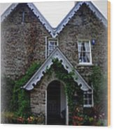 The Old Rectory At St. Juliot Wood Print