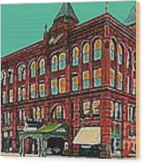 The Oliver Theatre In Lincoln Ne In 1910 Wood Print