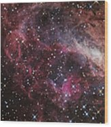The Omega Nebula Wood Print