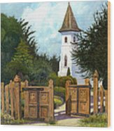 The Open Gate Wood Print