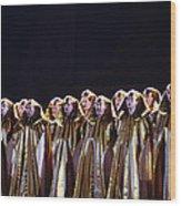 Verdi's Opera Aida Wood Print