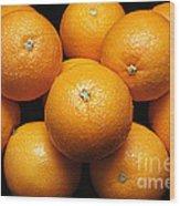 The Oranges Wood Print