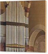 the Organ Augusta Victoria Jerusalem Wood Print