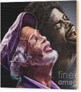 The Other Side-gil Scott Finally Going Home Wood Print
