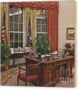 The Oval Office Wood Print