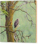 The Owls Overlook Wood Print