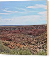 The Painted Desert Wood Print