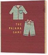 The Pajama Game Wood Print by Megan Romo