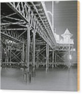 The Palace Pier Wood Print