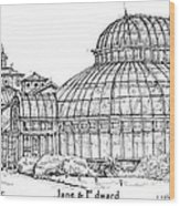 The Palm House For Jane And Edward Wood Print