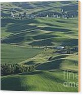 The Palouse 1 Wood Print