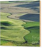 The Palouse 2 Wood Print