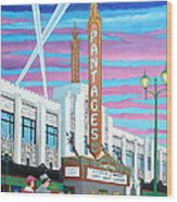 The Pantages Theatre Wood Print