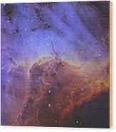 The Pelican Nebula Wood Print