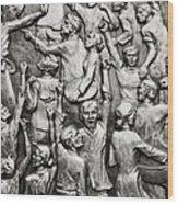 The People Wood Print