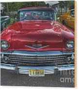 The Perfect Red Bel Air Wood Print