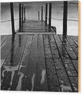 The Pier...protaras Wood Print