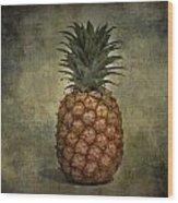 The Pineapple  Wood Print