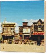 The Pioneer Hotel Old Tuscon Arizona Wood Print