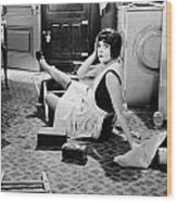 The Play Girl, 1928 Wood Print