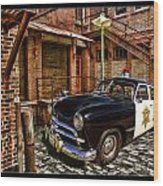 The Police Hideout Wood Print