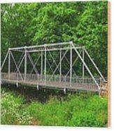 The Pony Bridge Wood Print
