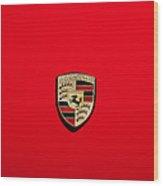 The Porsche Wood Print