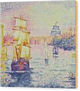 The Port Of Marseilles Wood Print