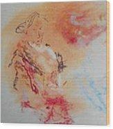 The Portrait Wood Print