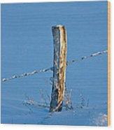 The Post Wood Print