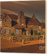 The Post Office Wood Print