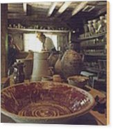 The Potters Barn Wood Print