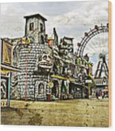 The Prater - Vienna Wood Print