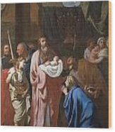 The Presentation Of Christ In The Temple Wood Print