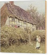 The Priest's House West Hoathly Wood Print