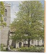 The Priory Church Of Saint Mary And All Saints Weybourne Wood Print