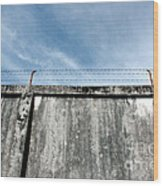 The Prison Walls Wood Print