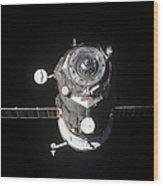 The Progress 46 Spacecraft Wood Print
